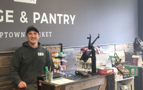 Cody Costanzo has a dream of hosting beer and wine tastings at Fridge & Pantry. <em>Photo by Ryan McSheffrey</em><br>