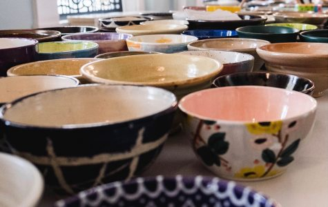 The Oxford Community Arts Center expects to sell up to 1,300 bowls on Saturday. <em>Photo contributed by Oxford Empty Bowls</em>