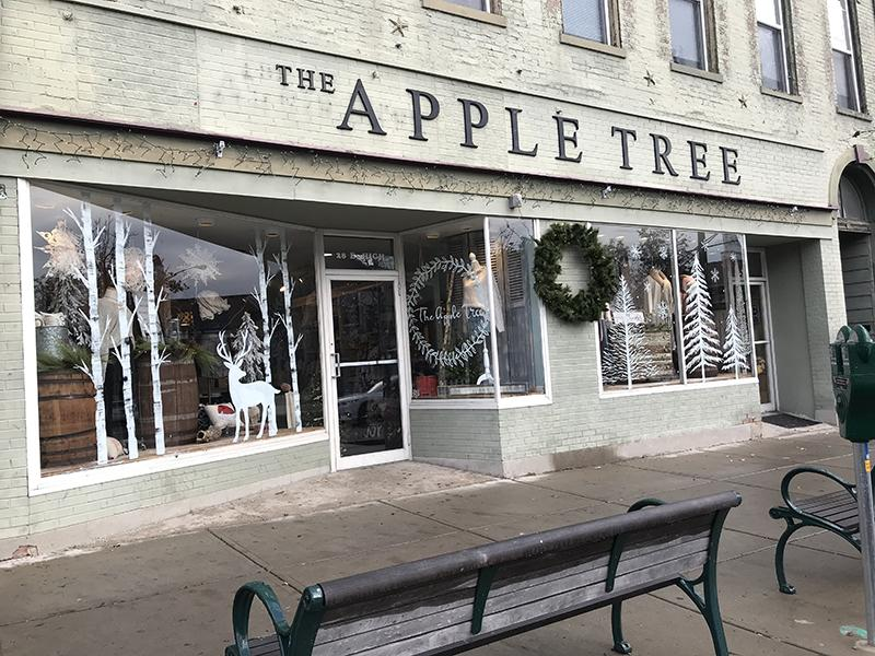 The Apple Tree, a part of the Oxford business scene for 39 years, is one of many local businesses that benefits from the Shop Small Saturday and other festive events uptown during the holiday season. Photo by Lauren Snyder