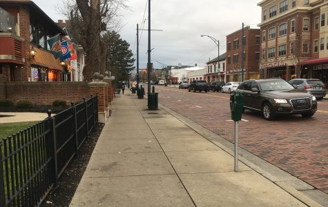 Oxford will provide free parking at Uptown parking meters Dec. 17-31 to encourage holiday shoppers to patronize local businesses. <em>Photo by Ryan McSheffrey</em>