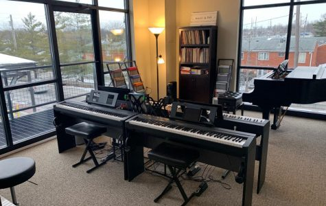 The new location of the Oxford Music Academic has bright, spacious lesson rooms. <em>Photo by Josiah Collins </em><br>