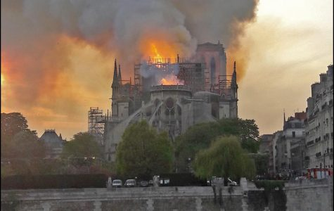 The world watched as Notre Dame cathedral in Paris burned Monday evening. It will take billions of dollars and many years to restore the 850-year-old structure. <em>Photo courtesy of Wikimedia Commons</em>
