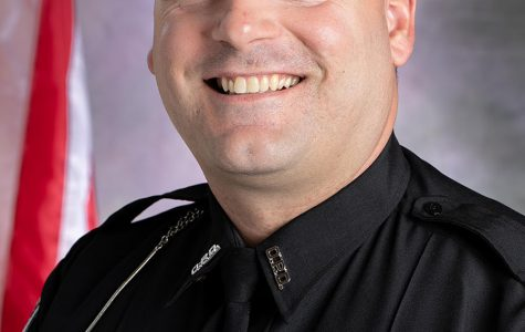 Officer Matt Wagers is the Talawanda Middle School Resource Officer.<em> Photo courtesy of Oxford Police Department</em>