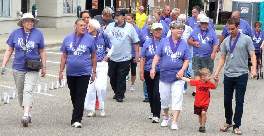 Last year's Relay For Life drew dozens of participants to Uptown Oxford for the annual fight against cancer. Photo courtesy of Karen Martino