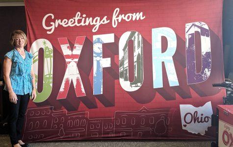 Kim Daggy was named Enjoy Oxford's Executive Director Friday, June 21. <em>Photo by Rebecca Huff</em>