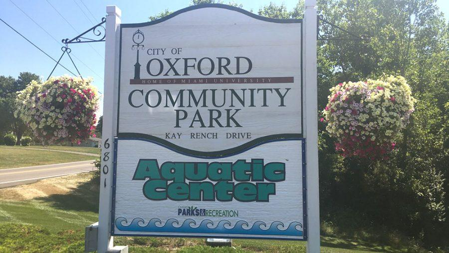 Oxford City Council is annexing 148 acres just west of the entrance to Oxford Community Park to better control traffic speed and pedestrian safety in the area. Photo by Aaron Smith