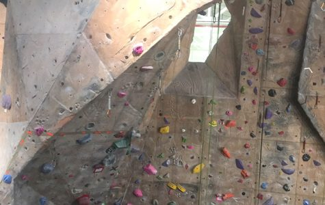 Features in Miami's Rec Center, such as the climbing wall, will be available to K-sixth grade children in single-day day camps this year. Photo by Aaron Smith<br>