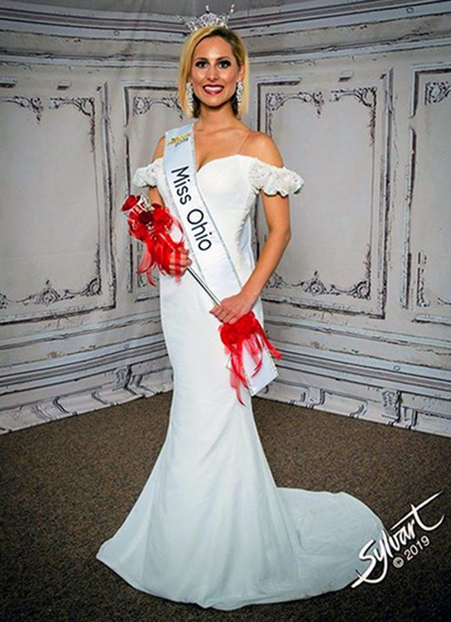 Miss+Ohio+is+more+than+just+a+title%2C+it+is+a+business+position%2C+said+Caroline+Williams%2C+seen+here+in+her+crown+and+sash.+Photo+provided+by+the+Miss+Ohio+pageant.