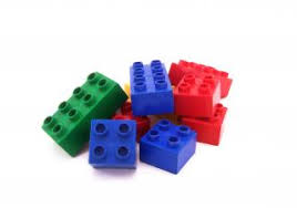 The colorful LEGO blocks are popular toys with all ages of children. <em>Photo courtesy of LEGO.</em><br>