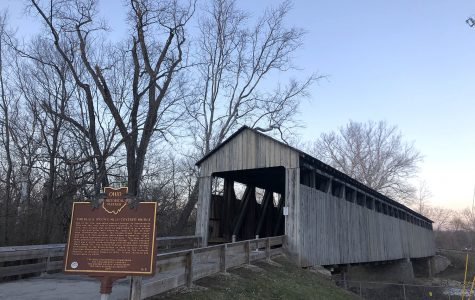 Now on the National Register of Historic Places, the Black Covered Bridge was built to give farmers easy access to local saw and grist mills. <em>Photo by Halie Barger</em>