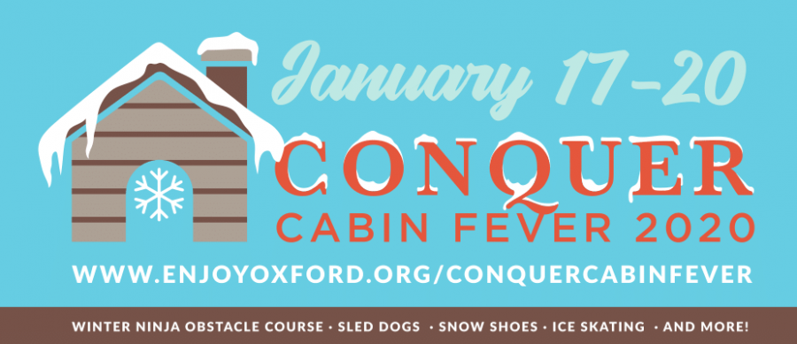"The ""Conquer Cabin Fever"" program to ward off the winter blues was one of Enjoy Oxford's most popular events in the past year. Photo courtesy of Enjoy Oxford"