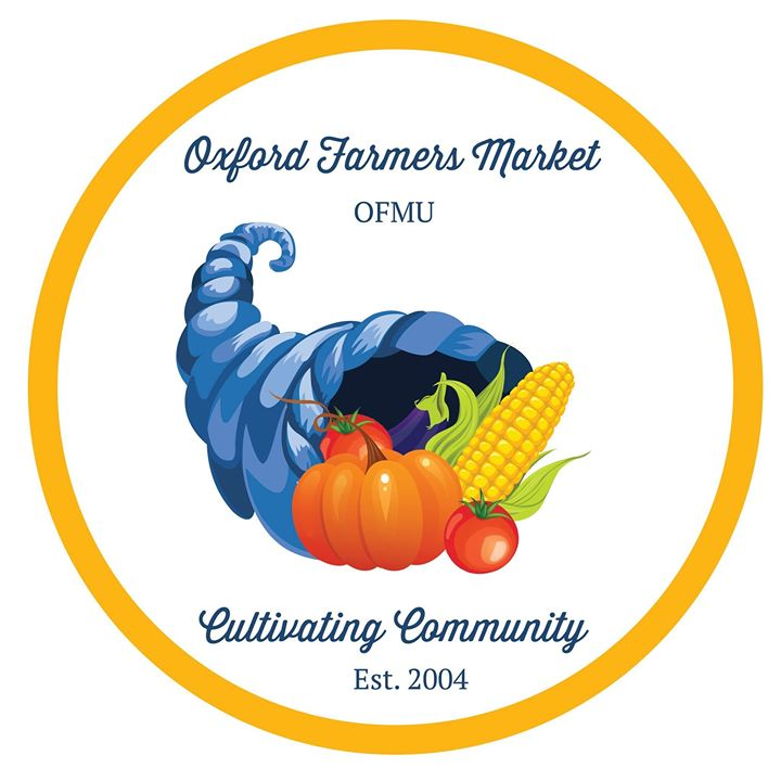 The Oxford Farmers Market invites people to shop at the market in Uptown Park every Saturday from 10 a.m. until noon – from a safe distance. <em>Photo courtesy of Oxford Farmers Market.</em><br>