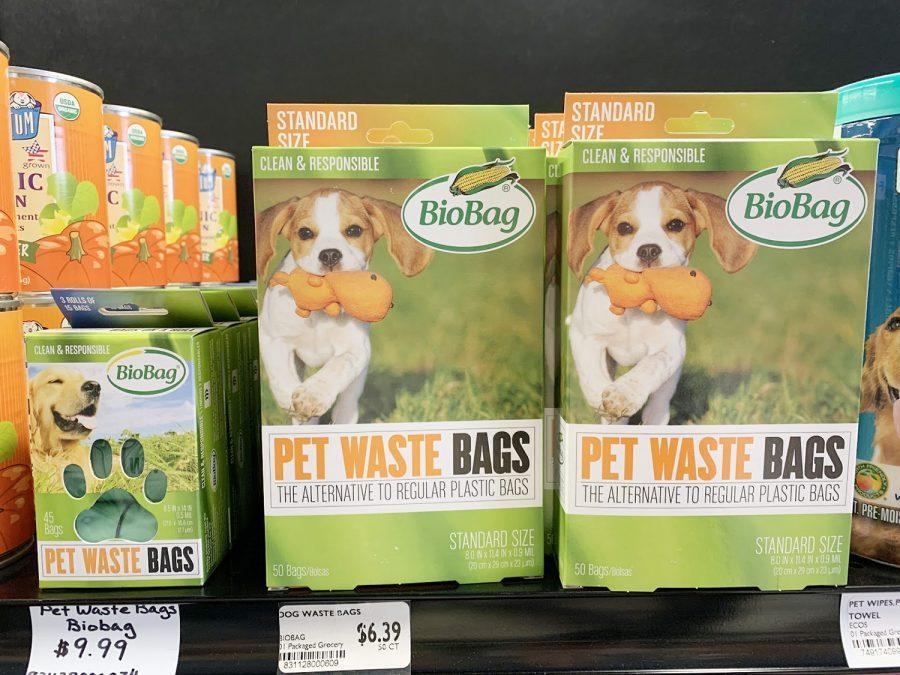 BPI+certified+pet+waste+bags+in+the+Moon+Co-op.+%3Cem%3EPhoto+by+Yuhuizi+Zhu%3C%2Fem%3E
