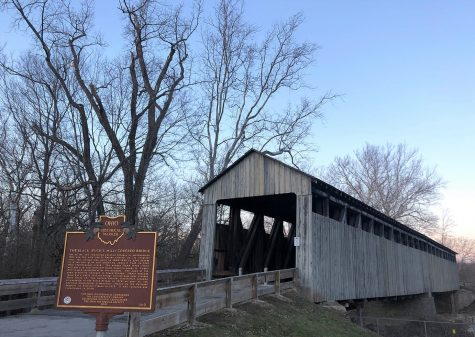 The Black Covered Bridge over Four Mile Creek is one of the sites along the Oxford Area Trail System. <em>Observer file photo</em>