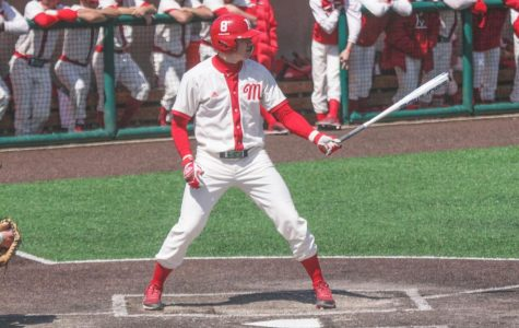 Hamilton native and Miami University senior Landon Stephens signs as a free-agent with the Atlanta Braves Sunday. Stephens was named First-Team All-Mid-American Conference as a junior and finished his collegiate career third all-time in Miami history with 53 career doubles. <em>Photo courtesy of the Miami Athletic Department</em>