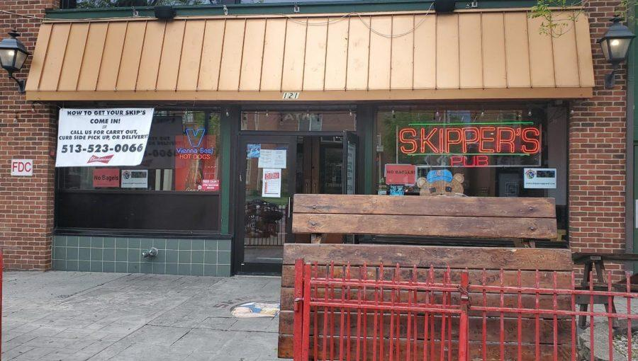 Bars such as Skippers, on High Street in Oxford, may soon be able to keep serving until 4 a.m. on weekends, under a proposed bill in the Ohio Legislature. Observer file photo