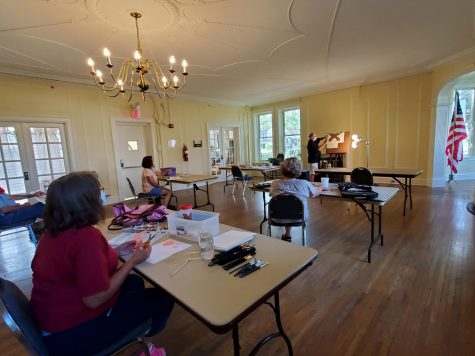 Safe painting classes are now available at the Oxford Community Arts Center