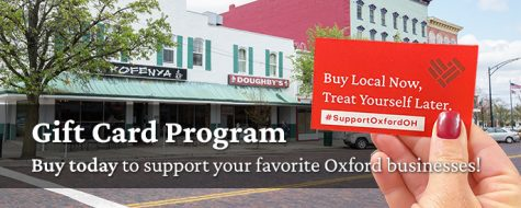 The Oxford Gift Card program puts money back into the community