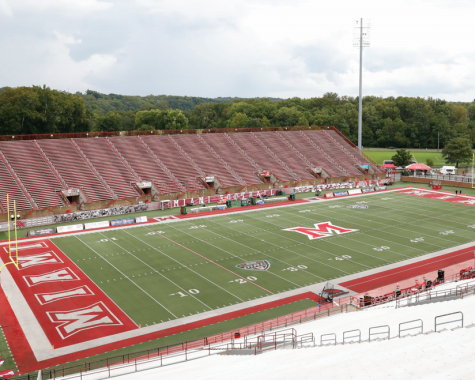 Yager Stadium will remain empty throughout the fall with seasons canceled and all team members under mandatory quarantine