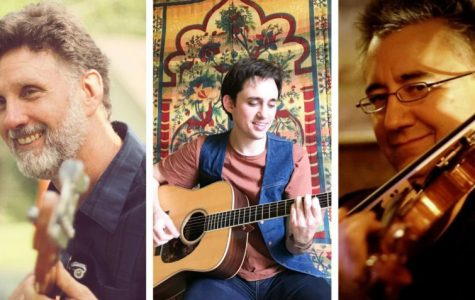 Alex Poteet, left Noah Cope, middle and Doug Hamilton, right will be featured in the Oxford Community Arts Center's Second Friday celebration.
