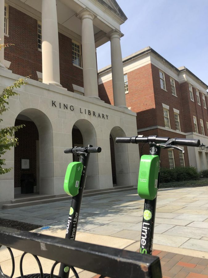 Lime scooters officially return to campus
