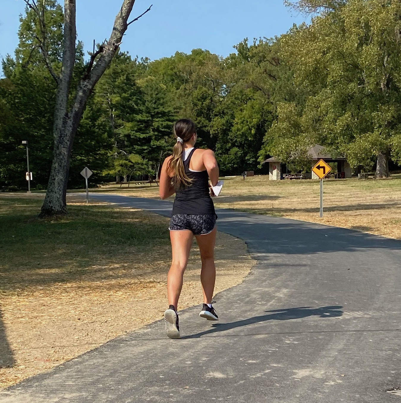 Runners have already made the new section of the Oxford Area Trails part of their regular route