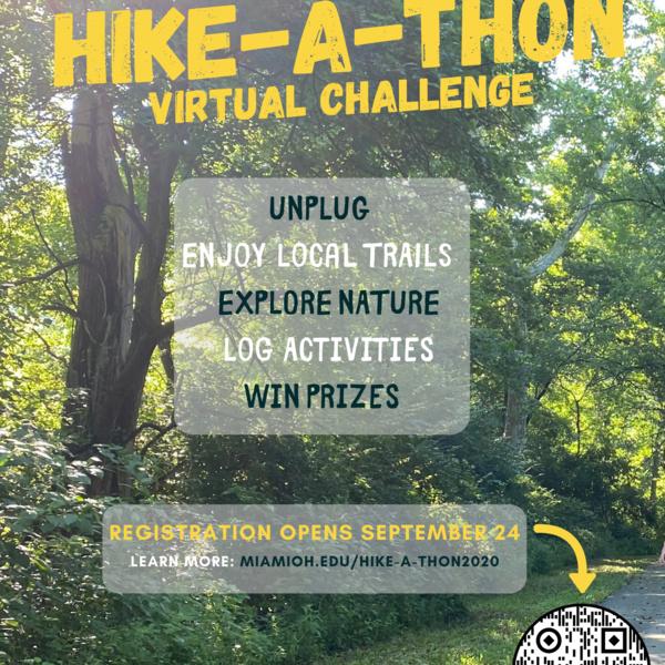 The annual Hike-A-Thon in Oxford runs through Nov. 1.