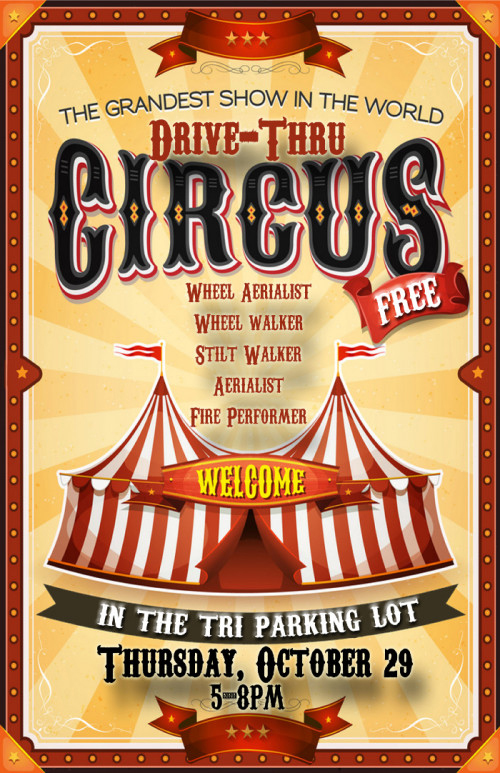 Drive-Thru Circus rolls into Oxford