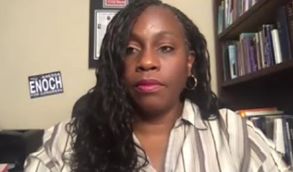 Vanessa Enoch, Democratic candidate for Congress from Ohio's 8th District