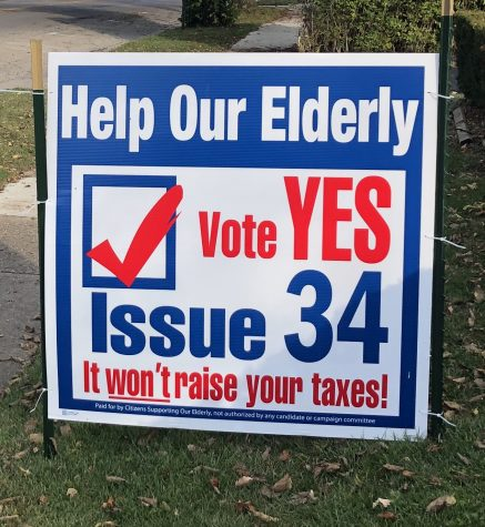 Issue 34 will renew a levy that will impact the seniors of Butler County.