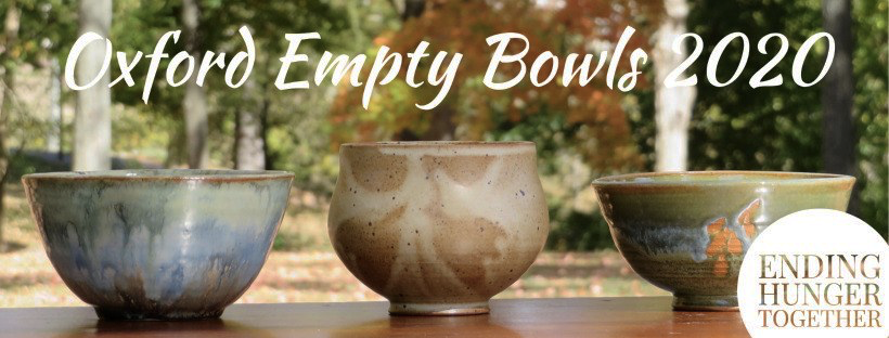 18 years of the annual Oxford Empty Bowls event