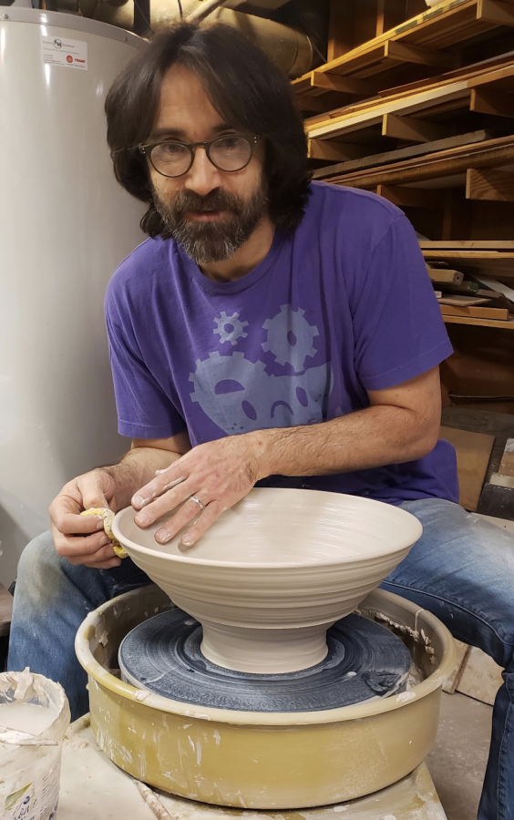 Robert Abowitz, a local amateur potter, has a long history of bowl making