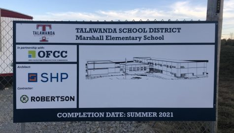 The new Marshall Elementary School on Oxford Millville Road will open in August, 2021
