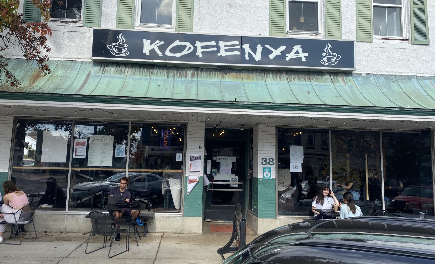 Local sites like Kofenya Coffee Co., are perfect settings for their film