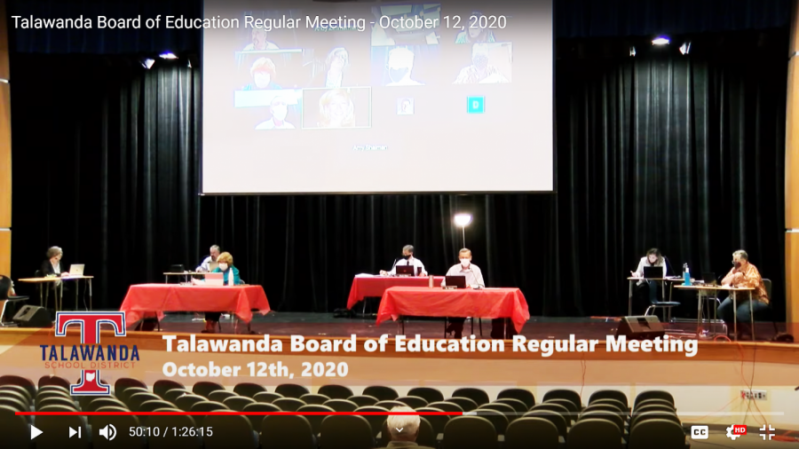 Talawanda School Board hosts first in-person meeting
