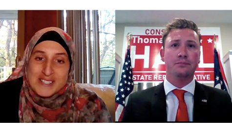 Candidates face off in virtual debate Tuesday night
