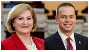 Senator Teresa Fedora and Senator Nathan Manning co-sponsor a bipartisan bill to aid state schools