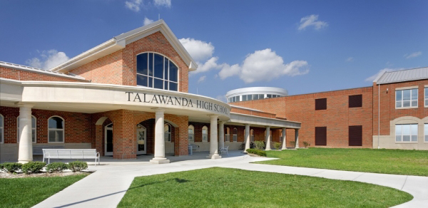 Talawanda High School has held classes virtually since August, like many other schools in the district