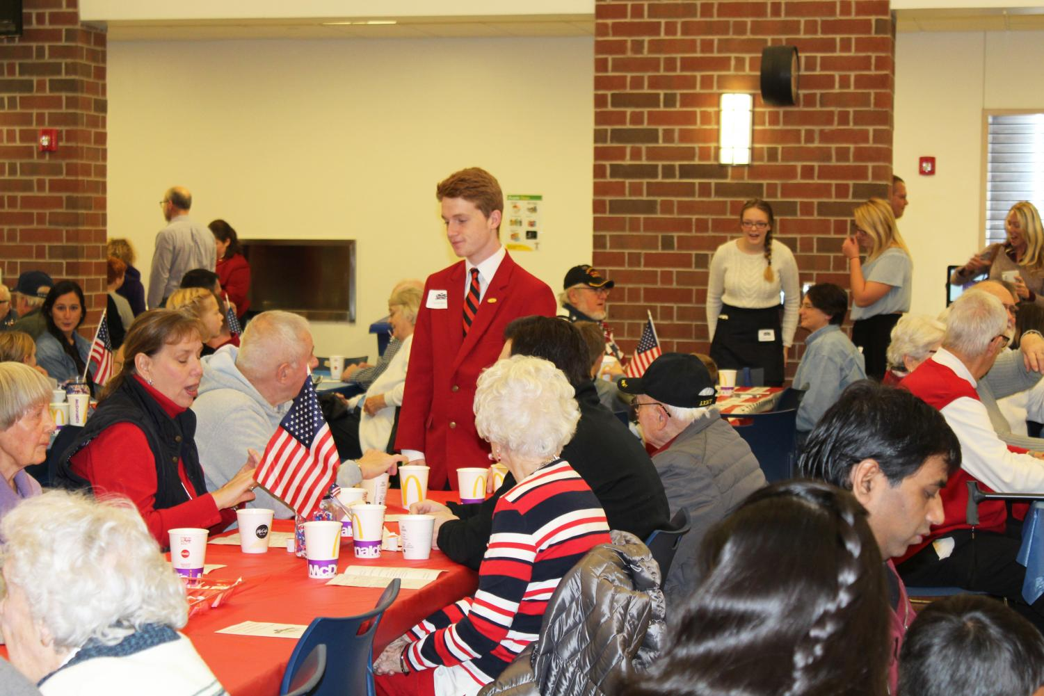 The 2019 Veterans Day Breakfast hosted by the local FCCLA