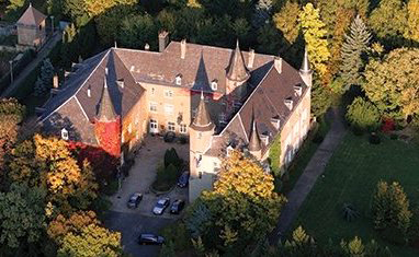 The Chateau, which houses Miami's John E. Dolibois European Center, in Differdange, Luxembourg.