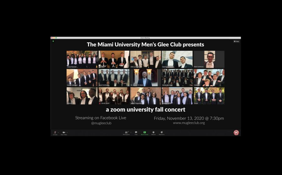 The+Miami+University+Men%27s+Glee+Club+performs+vitually+tonight+on+its+Facebook+page.