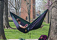 The traditional weeklong spring break at Miami University has been canceled for 2021 because of COVID-19. Instead, students are being given five individual days off, spaced throughout the semester, during which they are encouraged to read, relax and recharge, while staying on campus. Hammocks are optional.
