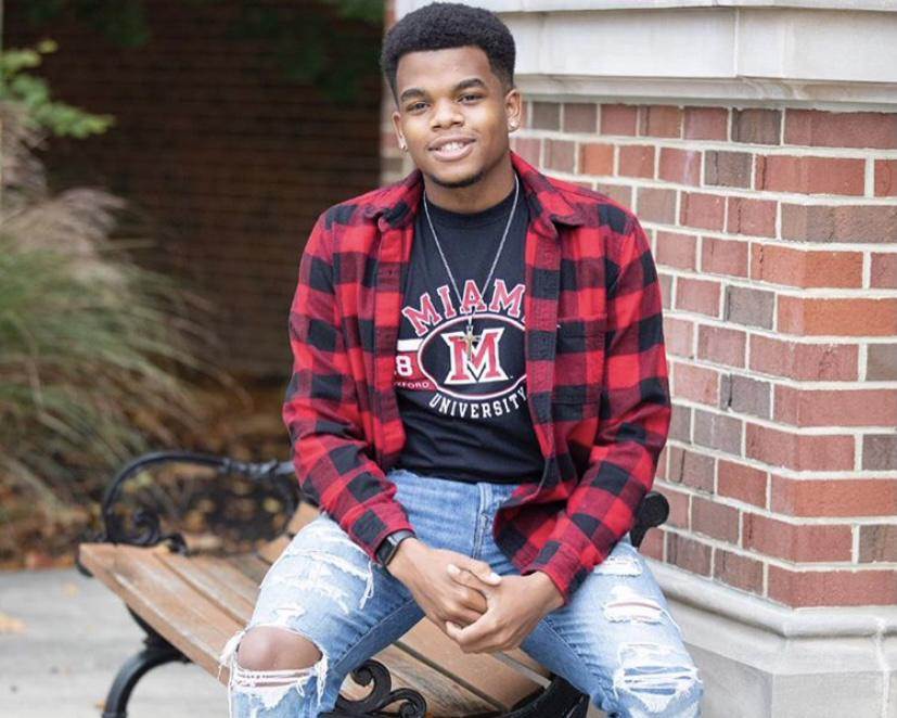 Miami junior Cameron Bracely hopes to become Miami University's next student body president.
