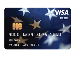 Payments for eligible people may be directly deposited in bank accounts, come by check or be mailed in the form of prepaid debit cards like these, according to the IRS.