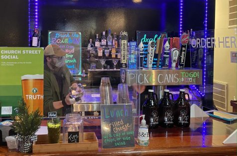 Church Street Social's bar manager Ford Clay says the new format allows a more creative approach to the drinks menu.