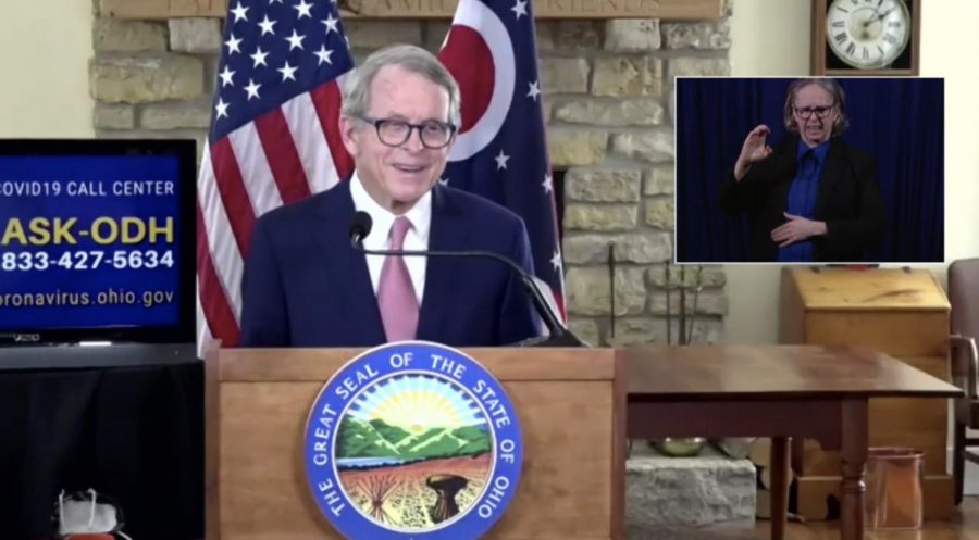Ohio Gov. Mike DeWine said at his Thursday virtual press conference that the state is offering residents and staff at Ohio nursing homes another chance to get the COVID-19 vaccinations.