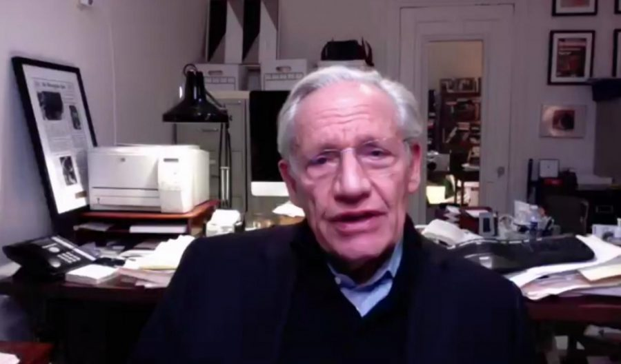 Investigative reporter Bob Woodward spoke via Zoom on Monday as part of the Miami University Lecture Series.