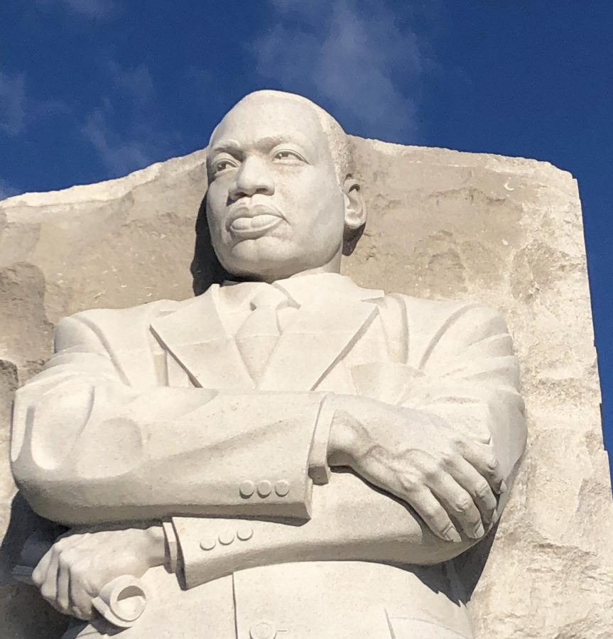 A+lecture+will+discuss+what+Rev.+Martin+Luther+King%2C+Jr.%2C+who+is+memorialized+in+Washington%2C+DC%2C+would+teach+in+2021.+