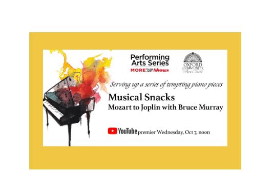 Miami Performing Arts Series provides weekly musical snacks