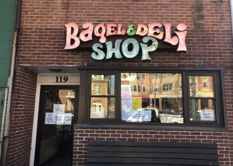 The Bagel & Deli Shop, a fixture in Oxford at 119 E. High Street, starts all of its workers at the $8.55 Ohio minimum wage – plus tips.